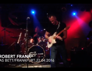 Crossover Poets – Ode to Robert Frank (Live in Das Bett, Frankfurt am Main – 22.04.2016)